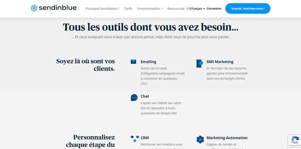 Sendinblue : Les 7 meilleurs outils de Marketing direct en 2020