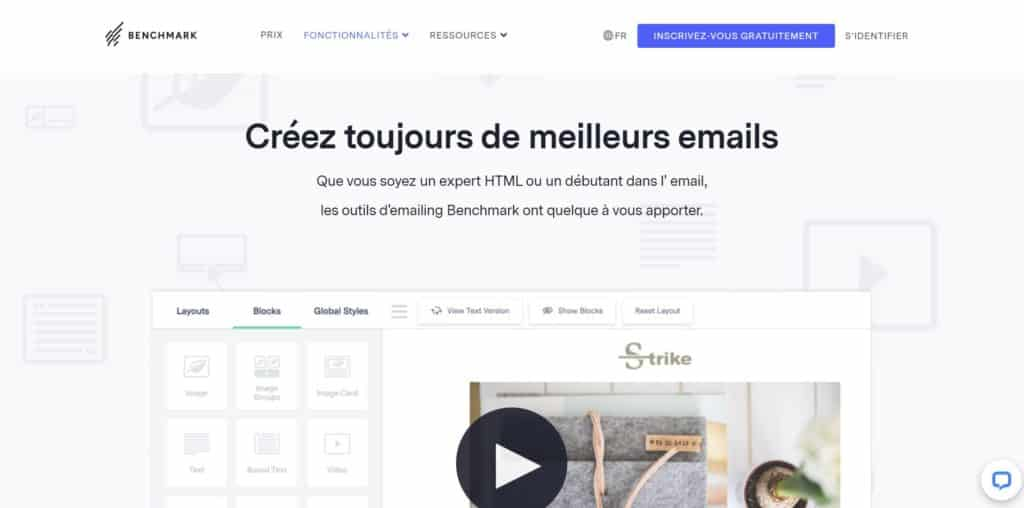 Benchmark Email pour Mac OS