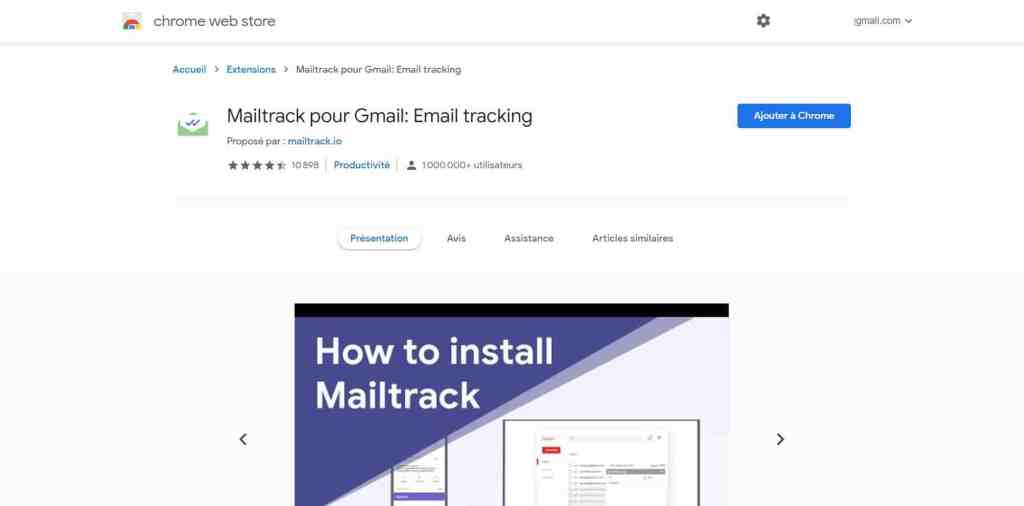 Mail Track
