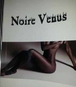 Noire Venus cadeau idéal pour la Saint Valentin
