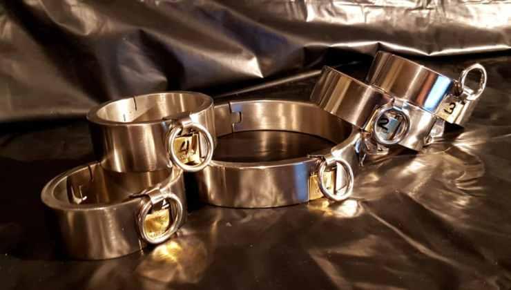 Bracelet et collier en acier inoxydable