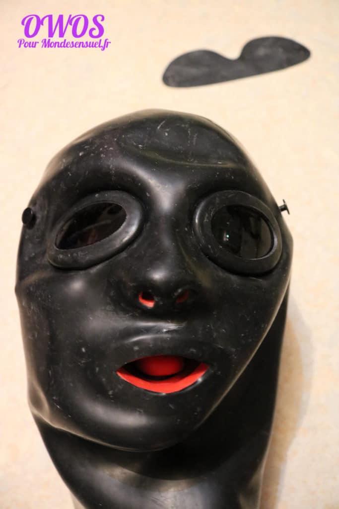 masque anatomique en latex