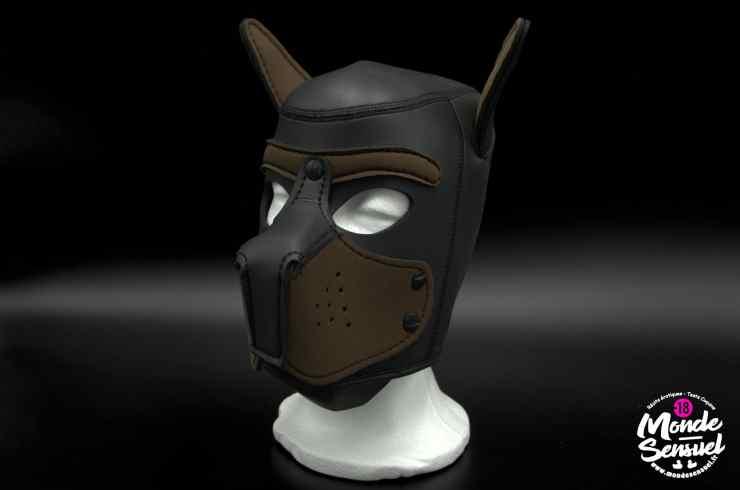 Photo masque de chien bad puppy