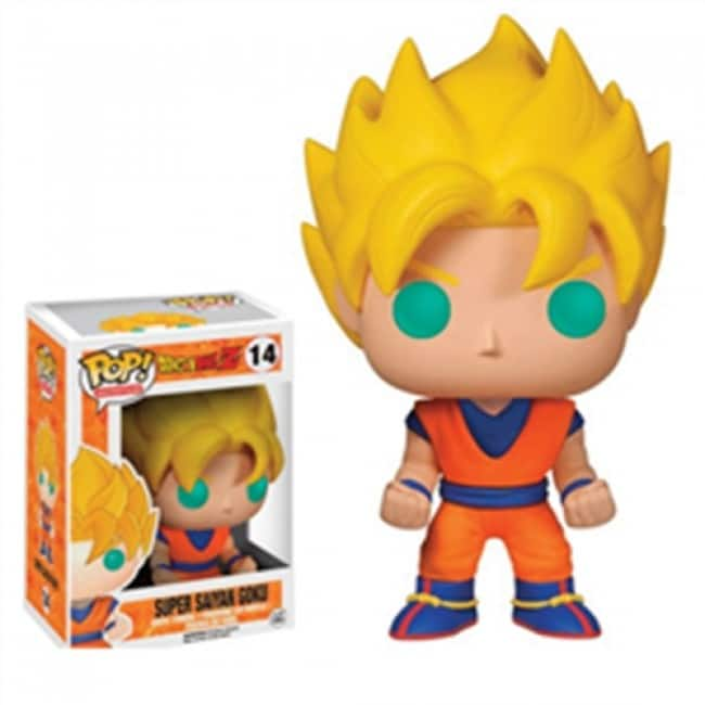 Dragonball Z Funko Pop Super Saiyan Goku 14