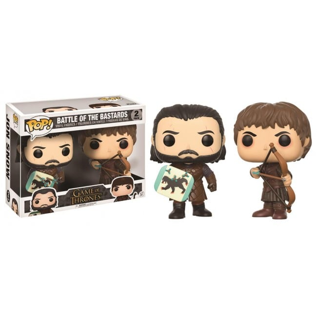Game of Thrones Funko Pop Battle of the Bastards 2 Pack