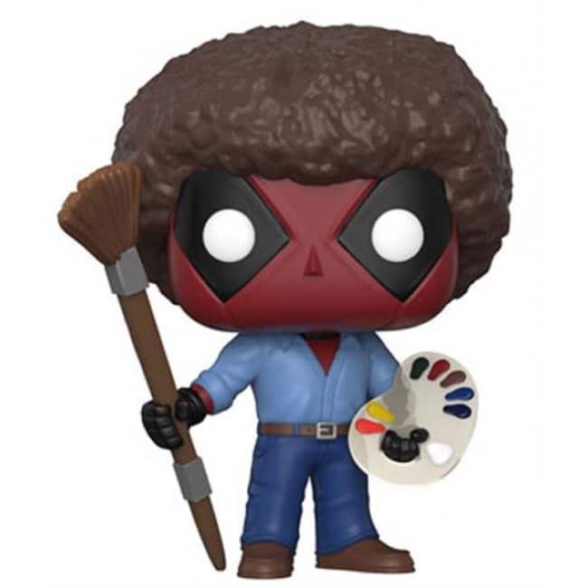 Marvel Funko Pop Deadpool As Bob Ross 319