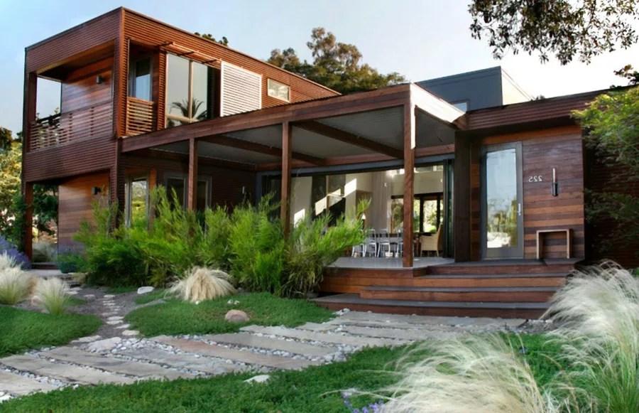 Una casa in stile moderno ma rustico allo stesso tempo. 35 Idee Per Case In Legno Moderne Mondodesign It