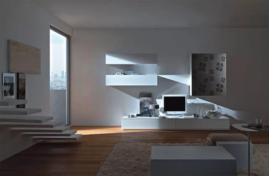 Se cerchi mobili giorno e pareti attrezzate moderne, scegli il modello parete attrezzata spazio 3 di pianca: Pareti Attrezzate Moderne 100 Idee Di Design Per Arredare Casa Mondodesign It