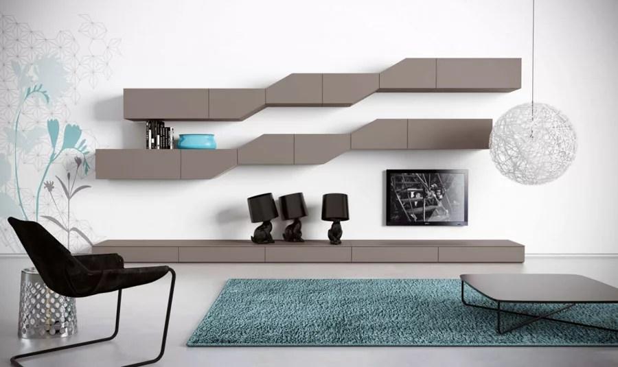 Foto pareti attrezzate su misura falegnamerie design. Pareti Attrezzate Moderne 100 Idee Di Design Per Arredare Casa Mondodesign It