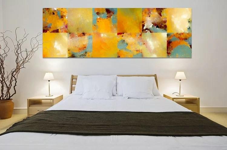 Volete delle idee per arredare la camera da letto con il color champagne? 65 Quadri Moderni Per La Camera Da Letto Mondodesign It