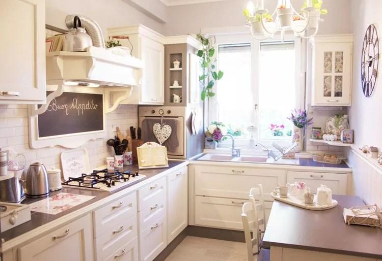 cucina in muratura stile classico. Cucine Shabby Chic 50 Idee Per Arredare Casa In Stile Provenzale Mondodesign It