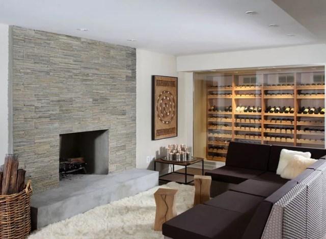 Patrón de soportes para botellas de vino n.05 Wall