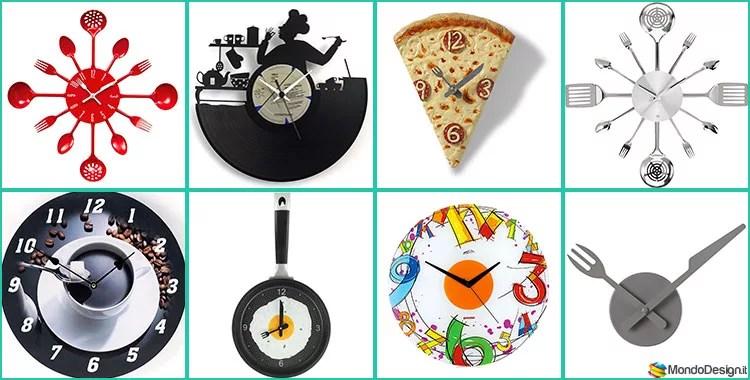 Orologi da parete online che sanno. Bellissimi Orologi Da Cucina Dal Design Moderno Mondodesign It