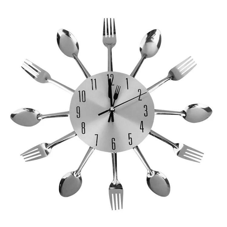 Orologio da parete disaccoppiatore design orologio da cucina rotondo in legno moderno antico in metallo. Bellissimi Orologi Da Cucina Dal Design Moderno Mondodesign It