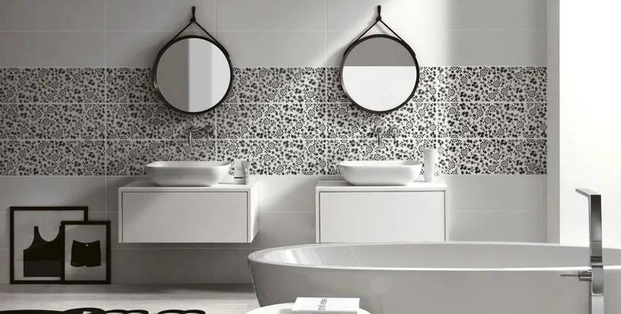 Rinnovare il bagno di casa idee da copiare soluzioni suggerimenti sanitari rivestimenti. Bagno Bianco E Nero 30 Idee Di Arredo Originali Mondodesign It