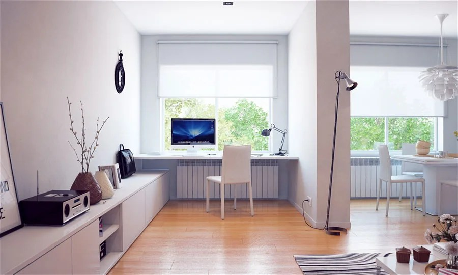 Scrivanie moderne, salvaspazio e angolari per ufficio. 47 Idee Di Design Per Arredare Uno Studio In Casa Mondodesign It