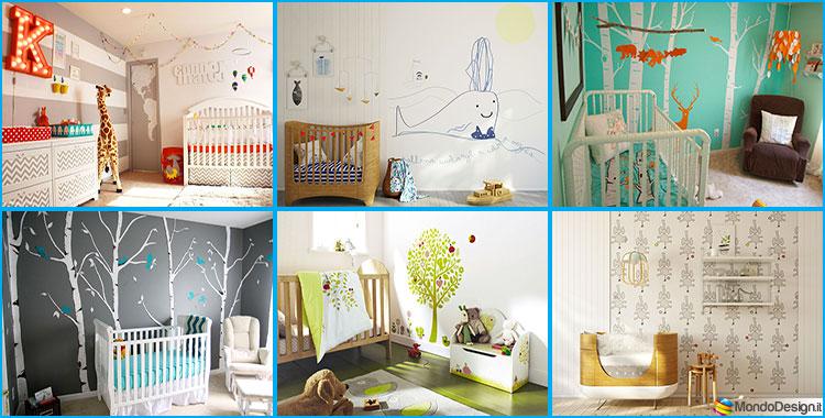 In questo post troverai 17 idee per decorare il soffitto della cameretta da bambino, un. 30 Idee Per Decorare La Cameretta Dei Neonati Con Allegria Mondodesign It