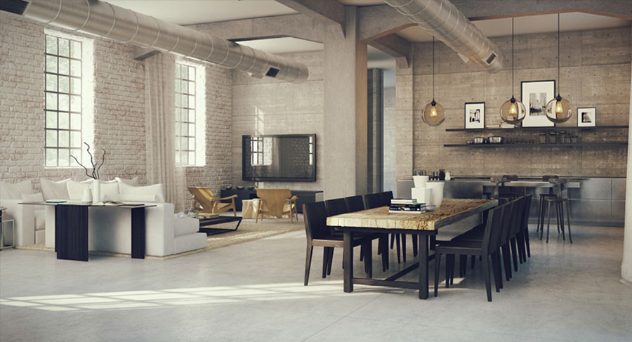 6 h 2,70 130 disi rnq 5,2 cucina/soggiorno Come Arredare Un Open Space Di 40 50 Mq Mondodesign It