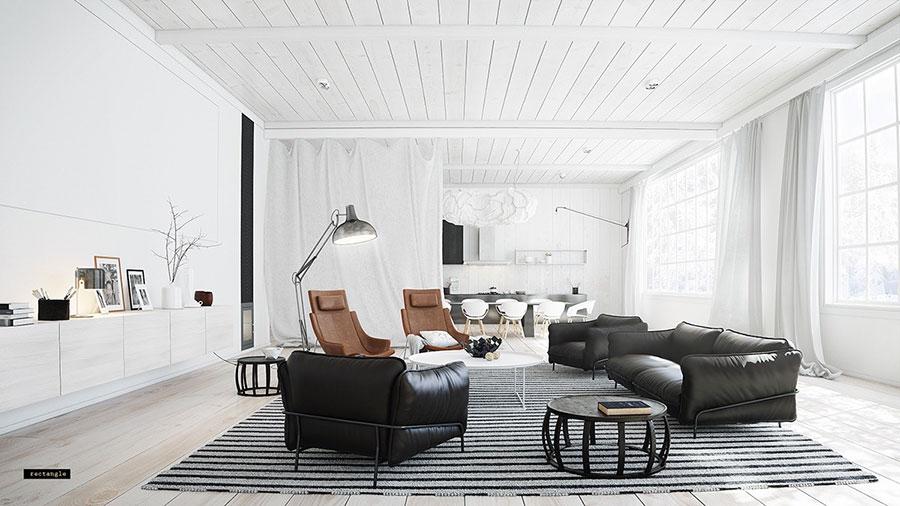 Arredare una casa di 40/50/60 mq senza costrizioni di spazio, garantendo la funzionalità di tutti gli ambienti quali la cucina, il soggiorno, la camera da letto ed il bagno è un'impresa ardua, ma non impossibile. Come Arredare Un Open Space Di 40 50 Mq Mondodesign It