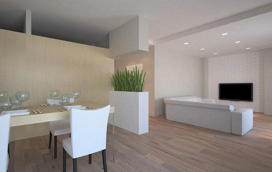Arredare open space di 20 mq arredaclick from arredare cucina soggiorno mq , source:www.arredaclick.com. Come Arredare Una Casa Di 60 Mq Tante Idee Dal Design Moderno Mondodesign It