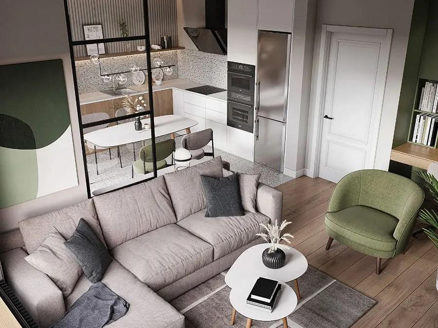 Arredare soggiorno pranzo in vendita in arredamento e casalinghi: Come Arredare Un Open Space Di 20 30 Mq Mondodesign It