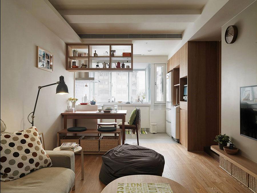 Villetta a schiera con, ingresso su soggiorno cucina abitabile tre camere doppi servizi, portico e giardino uso privato, box auto. Come Arredare Un Open Space Di 20 30 Mq Mondodesign It