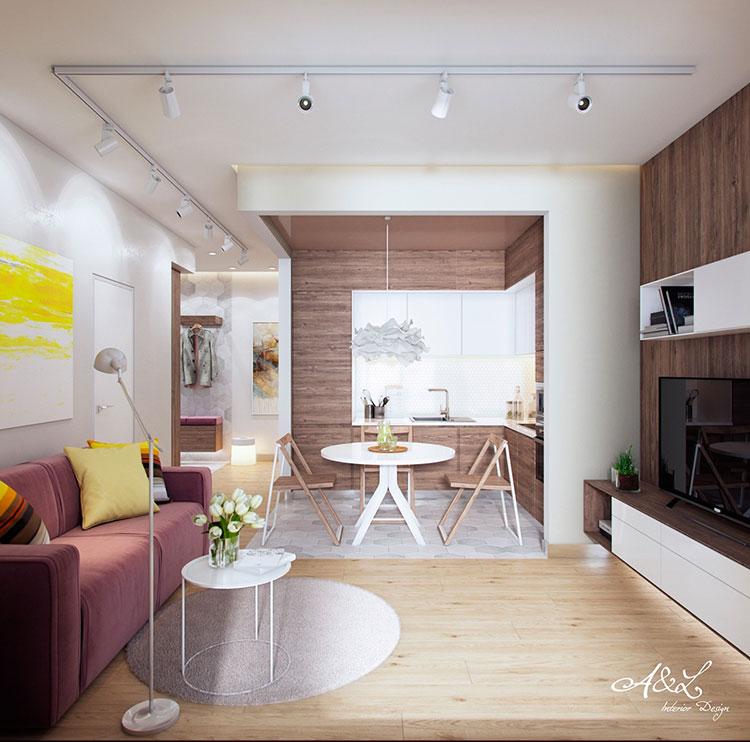 More images for progetto open space cucina soggiorno » oltre 50 idee originali per diversi stili. Come Arredare Un Open Space Di 20 30 Mq Mondodesign It