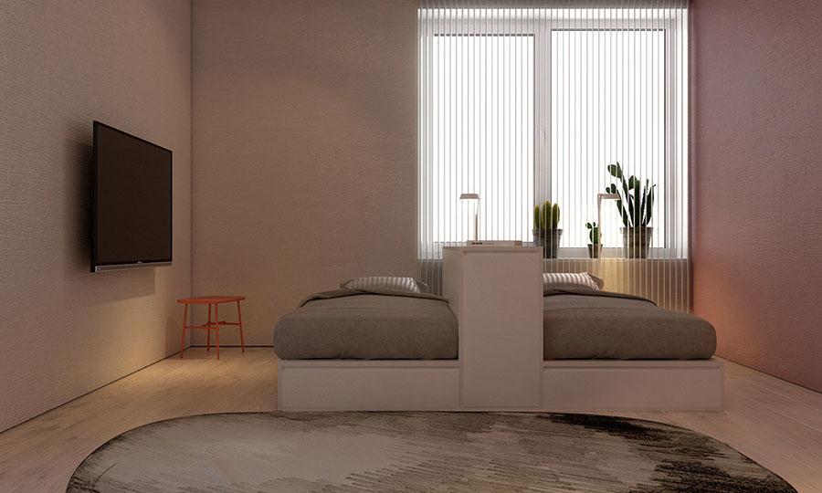 Scopri il modello in laccato opaco comp 316 di spagnol mobili per stanzette moderne. Camerette Con Due Letti A Terra Tante Idee Di Arredo Originali Mondodesign It
