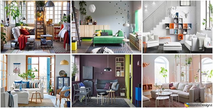 Noi tutti desideriamo degli ambienti con splendidi interni, ma allo stesso tempo ogni camera deve risultare funzionale consentendo agli occupanti di godere il più possibile dello spazio disponibile. Arredare Il Soggiorno Con Ikea Tante Idee Per Diversi Stili Mondodesign It