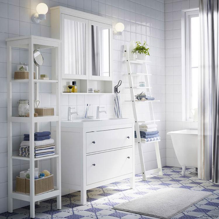 10 Idee Per Arredare Un Bagno Shabby Chic Ikea Mondodesignit