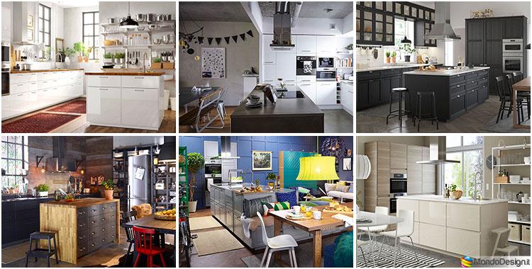 Ma è importante ricordare che una cucina, oltre ad essere bella, deve essere funzionale: Cucina Con Isola Ikea Ecco 12 Progetti A Cui Ispirarsi Mondodesign It