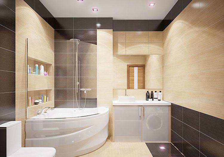 Il beige può essere utilizzato in tutti gli ambienti come colore base per le pareti, il pavimento, i mobili o addirittura per i serramenti. 70 Idee Di Abbinamento Di Colori Per Pareti Del Bagno Mondodesign It