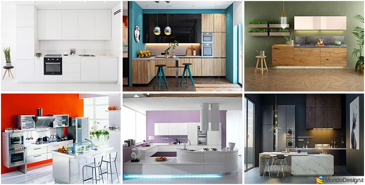 pareti color tortora per una casa magnifica! 35 Idee Per Colori Di Pareti Di Cucine Moderne Mondodesign It