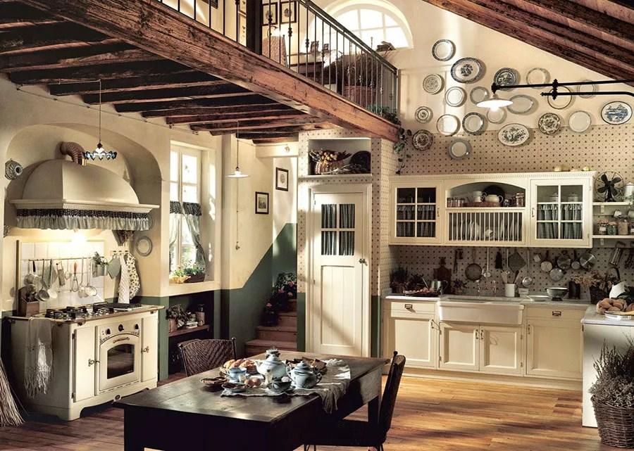 Quali sono le caratteristiche di una casa rustica? Cucina Rustica 30 Meravigliose Idee Di Arredamento Mondodesign It