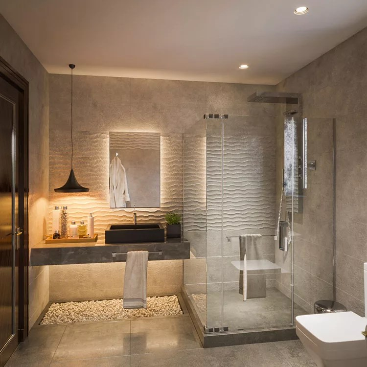Uno spazio dedicato al relax e al benessere? Bagno Moderno 85 Idee Di Arredo Originali Mondodesign It