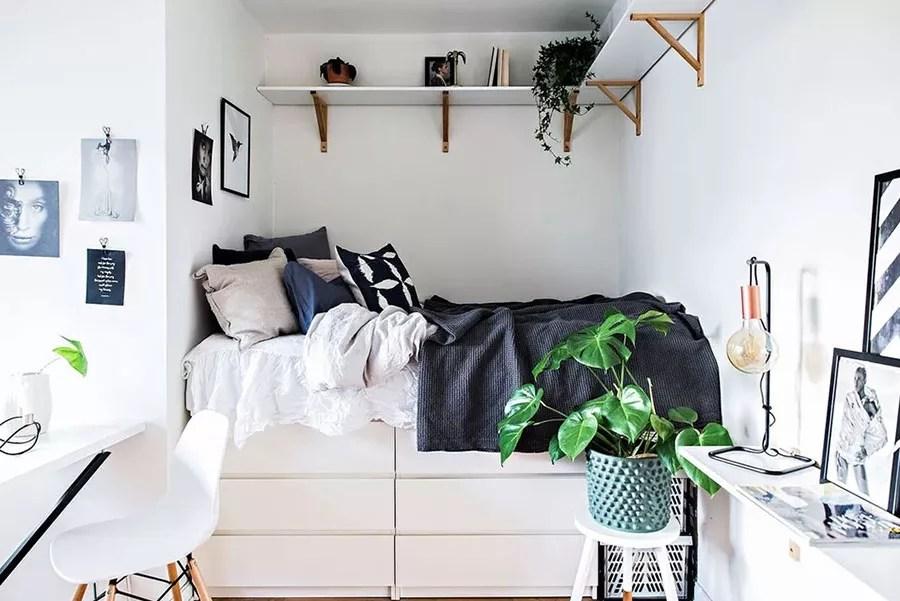 L'opulenza e la ricercatezza dell'arredamento stile fiorentino anche in camera da letto: Camera Da Letto Piccola Idee Salvaspazio E Consigli Di Arredamento Mondodesign It