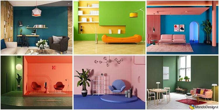 Su come scegliere il colore delle pareti del soggiorno. 100 Idee Per Colori Di Pareti Del Soggiorno Mondodesign It
