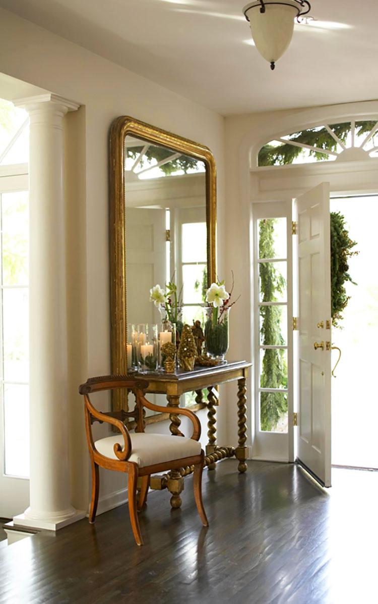 Shop online mobili per ingresso con appendiabiti, scarpiera e cassetti. 50 Idee Per Arredare Un Ingresso Classico Ed Elegante Mondodesign It