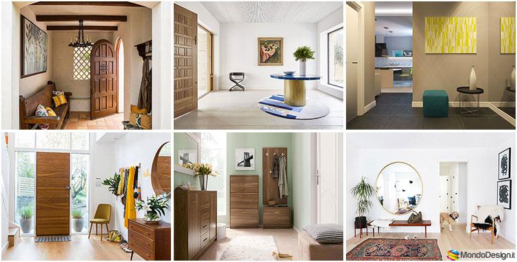 Regole, idee e soluzioni per arredare l'ingresso di casa. Come Arredare Un Ingresso Quadrato 20 Idee Moderne E Classiche Mondodesign It