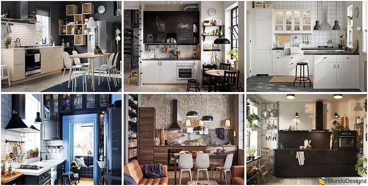 Spazio alla creatività ed alle idee! 27 Idee Per Arredare Una Cucina Piccola Con Ikea Mondodesign It