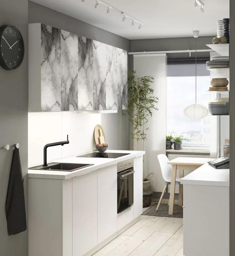 Un esempio di cucina ikea. 27 Idee Per Arredare Una Cucina Piccola Con Ikea Mondodesign It