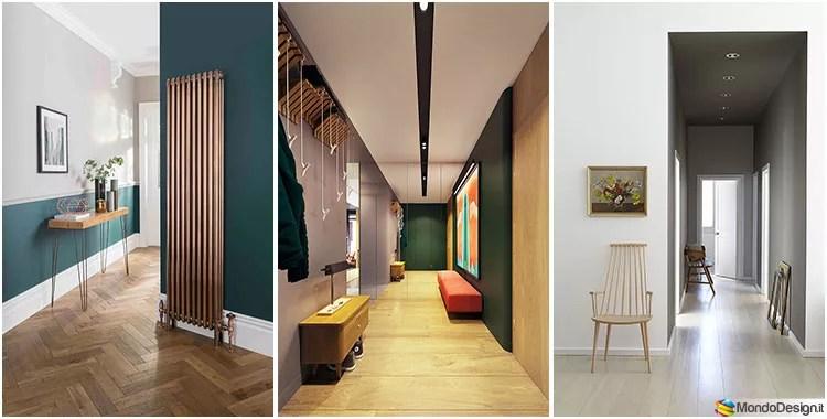 Idee e foto per colori e tinte del soggiorno; Colori Pareti Corridoio 30 Idee Per Dipingere E Rinnovare Mondodesign It