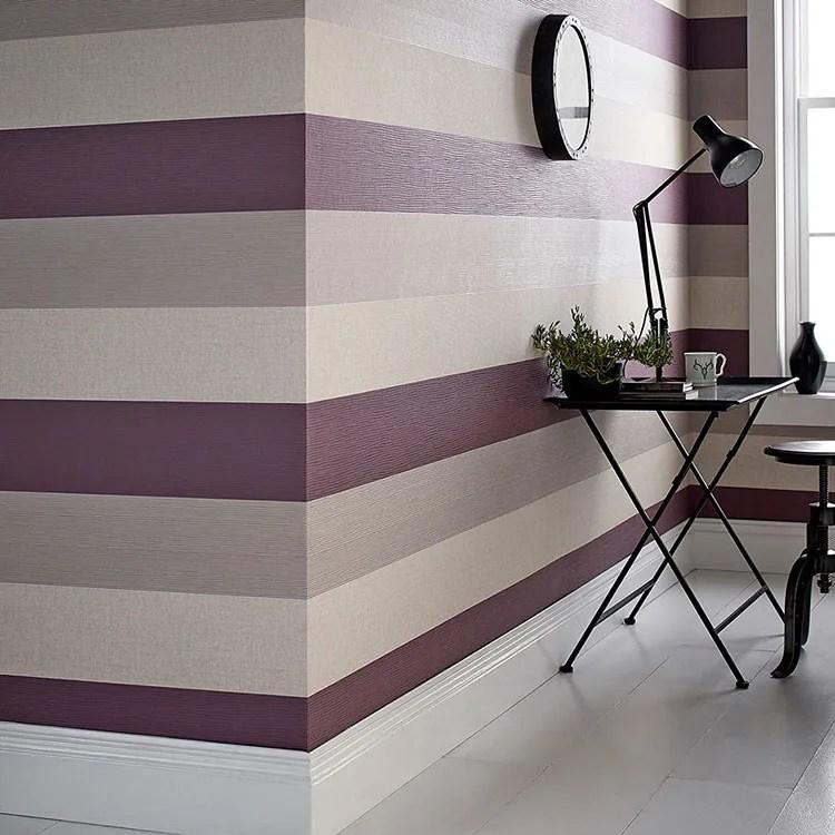 Pareti color tortora ☆ porta l'eleganza a casa tua con questa tonalità speciale! Pareti A Righe Orizzontali Tante Idee E Modalita Di Pittura Mondodesign It
