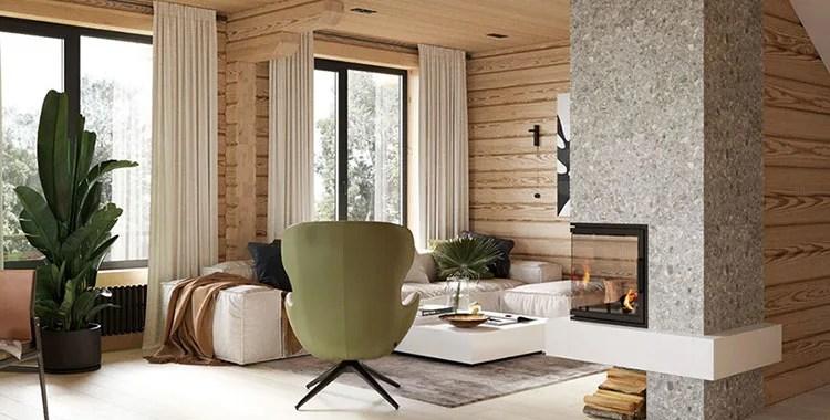 La nostra produzione in stile moderno è. 30 Idee Di Arredamento In Stile Rustico E Moderno Insieme Mondodesign It