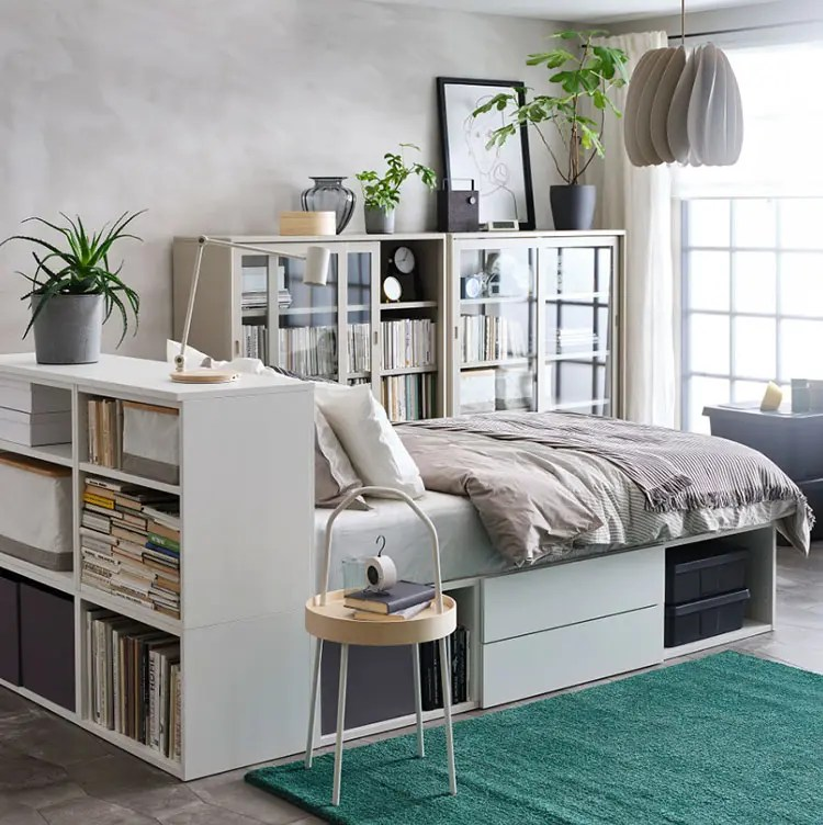Sometimes it's no way for parents to afford a cool bed from the market because it'll go far beyond their budget. Libreria In Camera Da Letto 25 Idee Da Copiare Mondodesign It