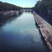 Ponte Sisto from far