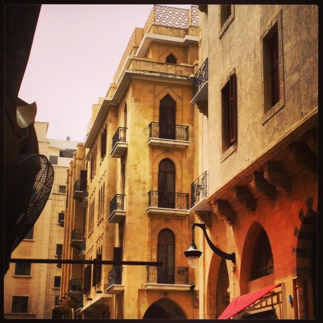 Beirut downtown