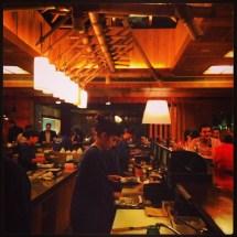 Sensei, a sushi restaurant in the Achrafiyeh district