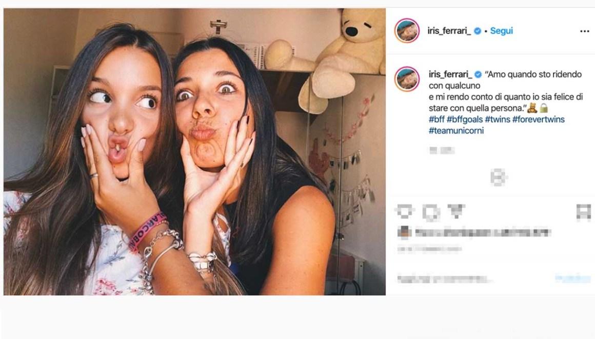 Iris Ferrari e Bianca Laudadio