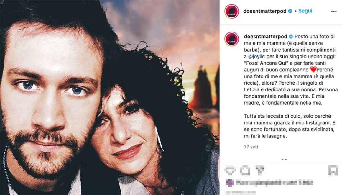 Daniele Doesn't Matter e la madre